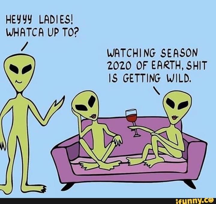 2020 Aliens Meme