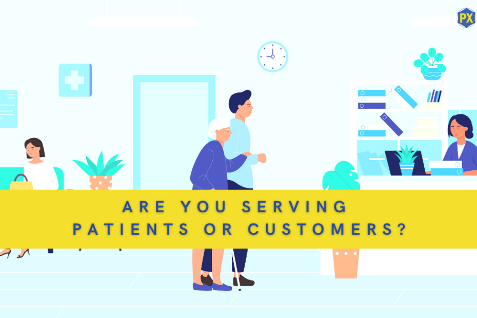 patients or customers